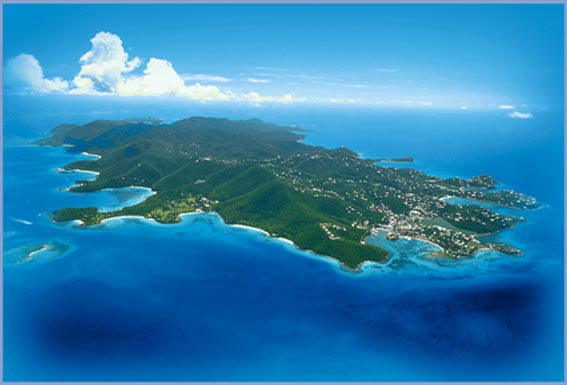 st. john island - ilha de st. john - virgin islands